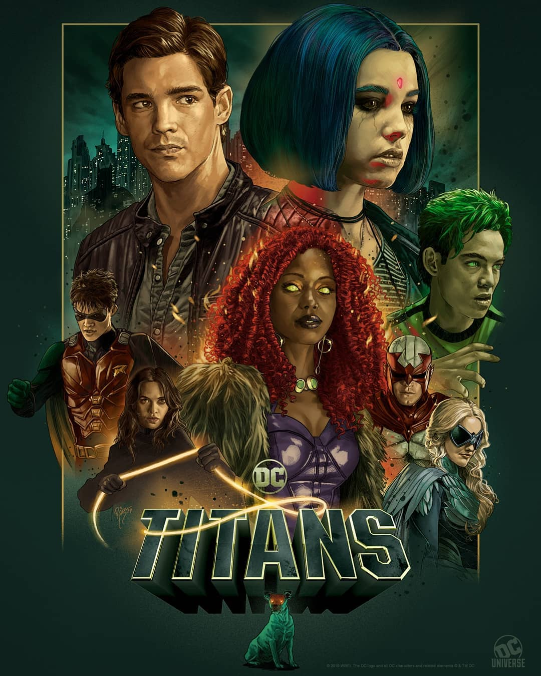 """En septiembre veremos la segunda temporada de """"Titans"""""""
