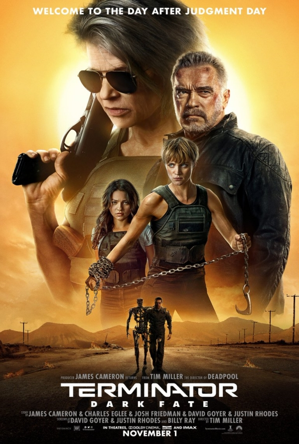 "Cartel final para ""Terminator: Dark Fate"""