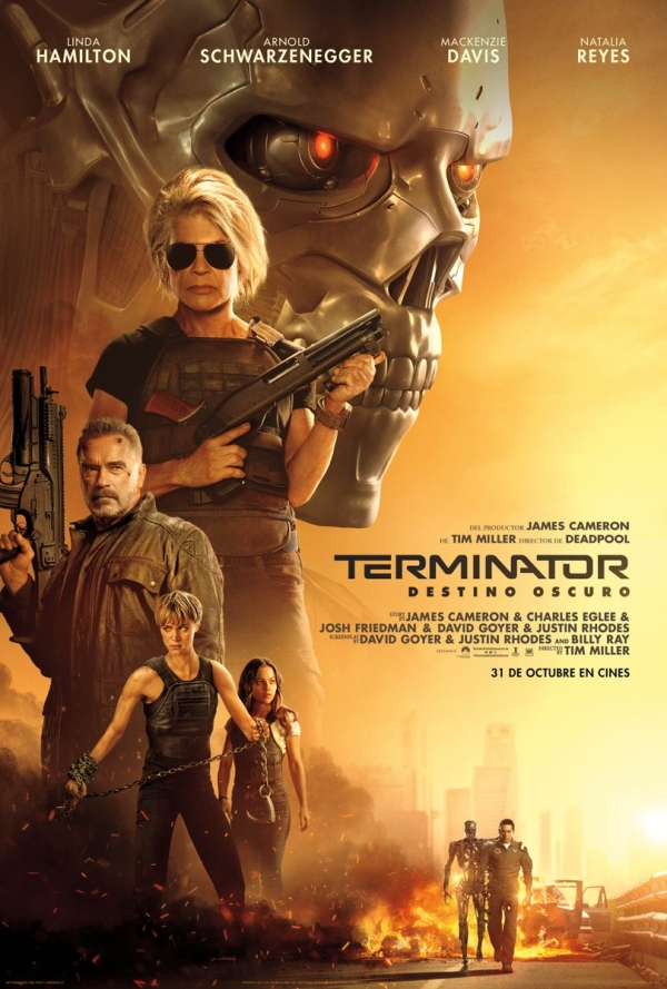 "Cartel final en español de ""Terminator: Dark Fate"""