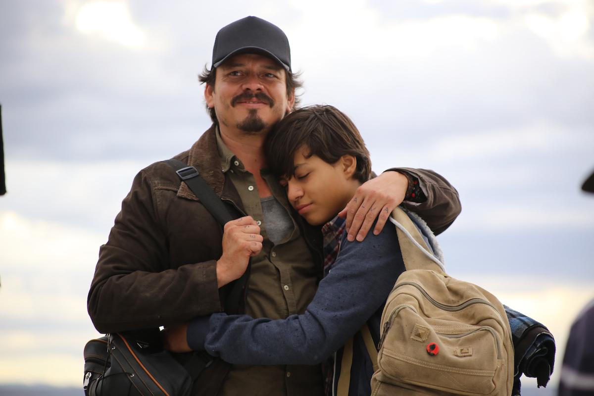 Jorge A. Jiménez, como el padre del niño asesinado