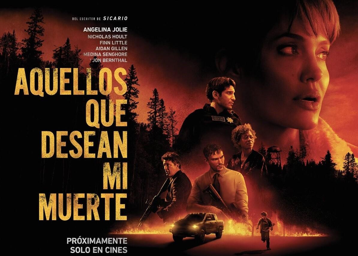 Those Who Wish Me Dead El Nuevo Thriller Con Angelina Jolie