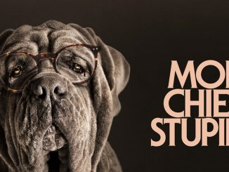 Cartel de Mon chien Stupide